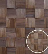 Pastilhado Mosaico de Teca