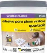 Adesivos e colas para pisos vinílicos e carpetes